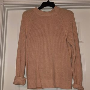 H&M sweater with zipper on back
